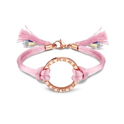 Mi Moneda Bracelet Primavera Light Pink