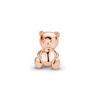 Mi Moneda Icon Bear Rosegold Plated