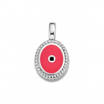 Mi Moneda Icons Pendant Hot Pink