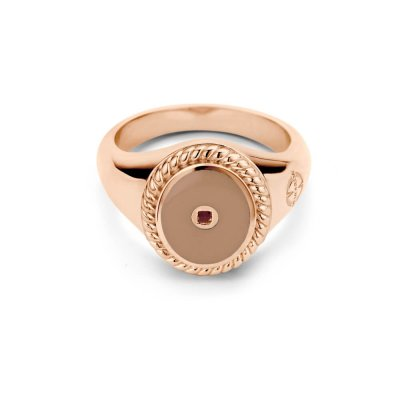 Mi Moneda Icons Ring Smokey