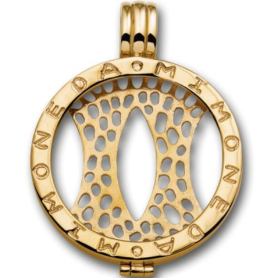 Mi Moneda Pendant Gold Plated S