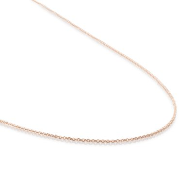 Anchor Chain Rose Gold Plated